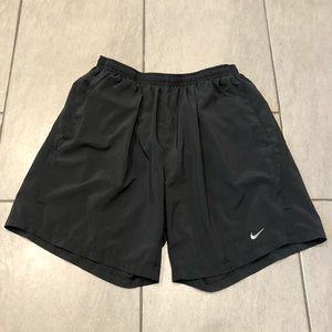Nike Dri Fit Shorts Lined Black